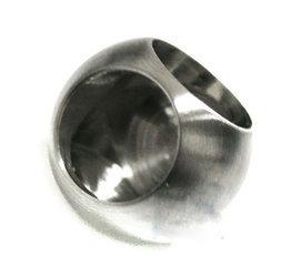 Corner Ball for   Ø 12 mm  Pipe /Satin