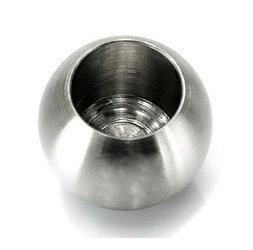ø 55mm Ball End Cap for Ø 42.4 mm  Pipe /Satin, Polish