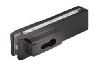 Corner Lock without  Cylinder / Black