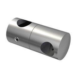Double Crossbar Holder for Ø12mm pipe/Ø 14 mm/ AISI 304/SATIN