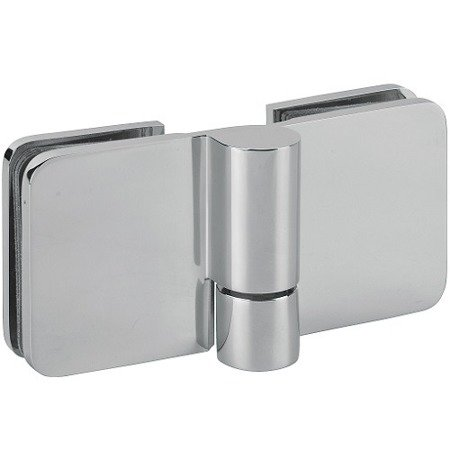 180/135 Glass Shower Lifting Hinge  (hidden screws)