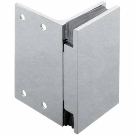 90x55 Shower Fixed Panel Connector (wall-glass) / Polish