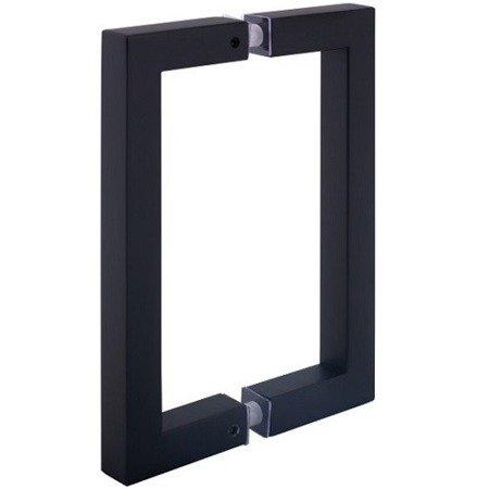 Black  17cm Loft Handle for Glass Door