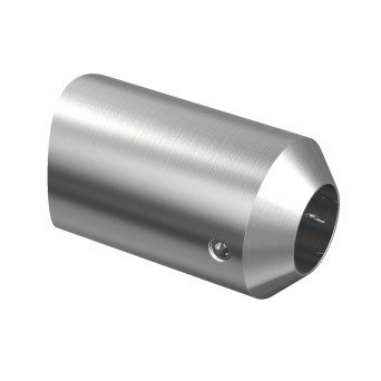 Front Crossbar Holder for Ø12 pipe/ Ø42,4 mm/ AISI 304/ SATIN