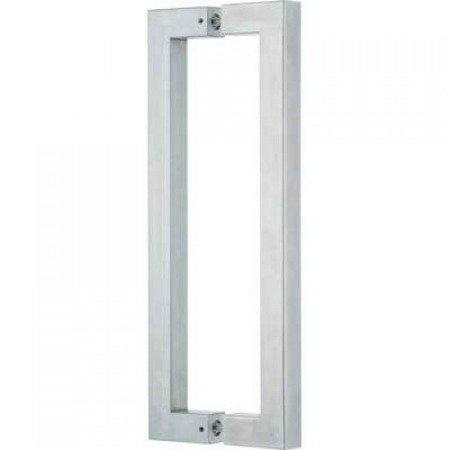 Glass Door Handle,/Polish, Satin, L=225 mm