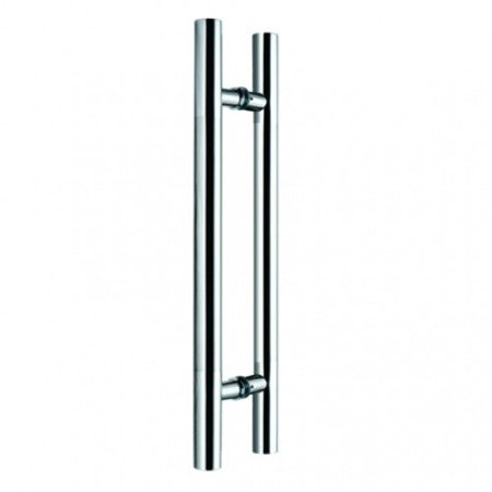 Glass Door Handle,/Polish, Satin, L=600 mm
