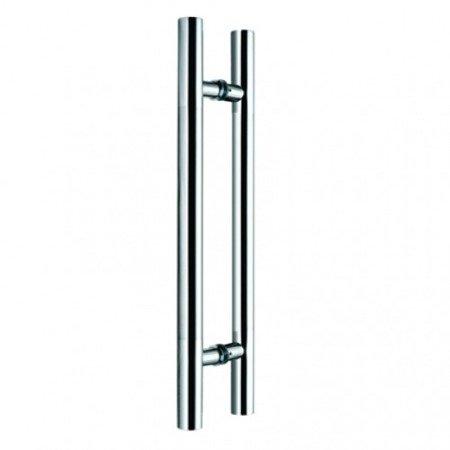 Glass Door Handle,/Satin, L=1800 mm