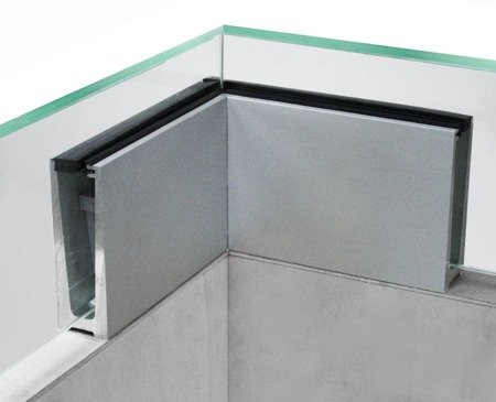 Internal 90 Angle Connector for U Balustrade Channel ETP.001.01