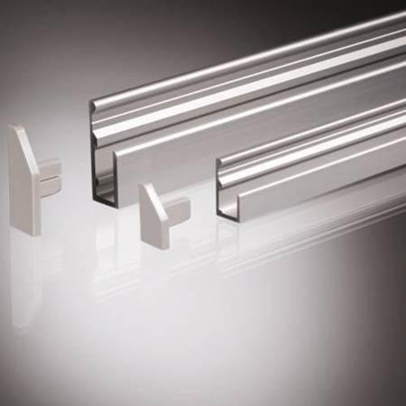 Mirror Profile H=10 mm / silver