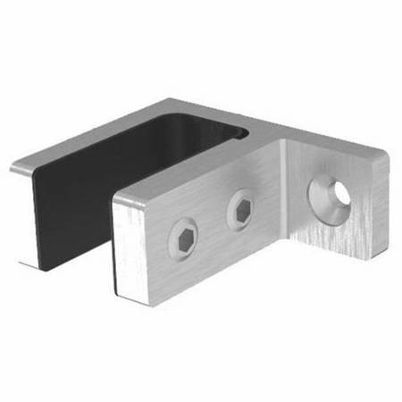 Wall-to-6.76-21.52 mm Glass Connector/ Satin